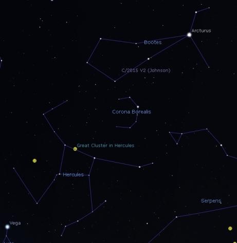 Bootes-Hercules, Stellarium