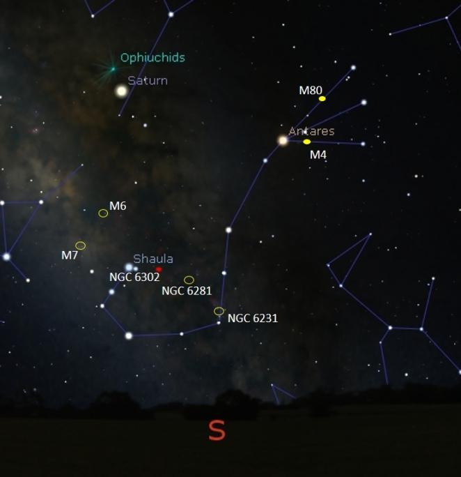Scorpio Deep Sky