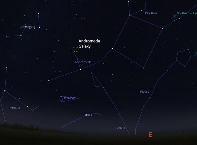 Pegasus, Andromeda