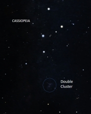 Cassiopeia, Double-Cluster