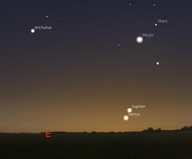 Venus-Jupiter 171115