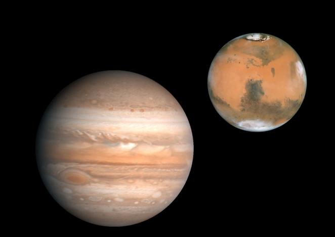 Jupiter-Mars