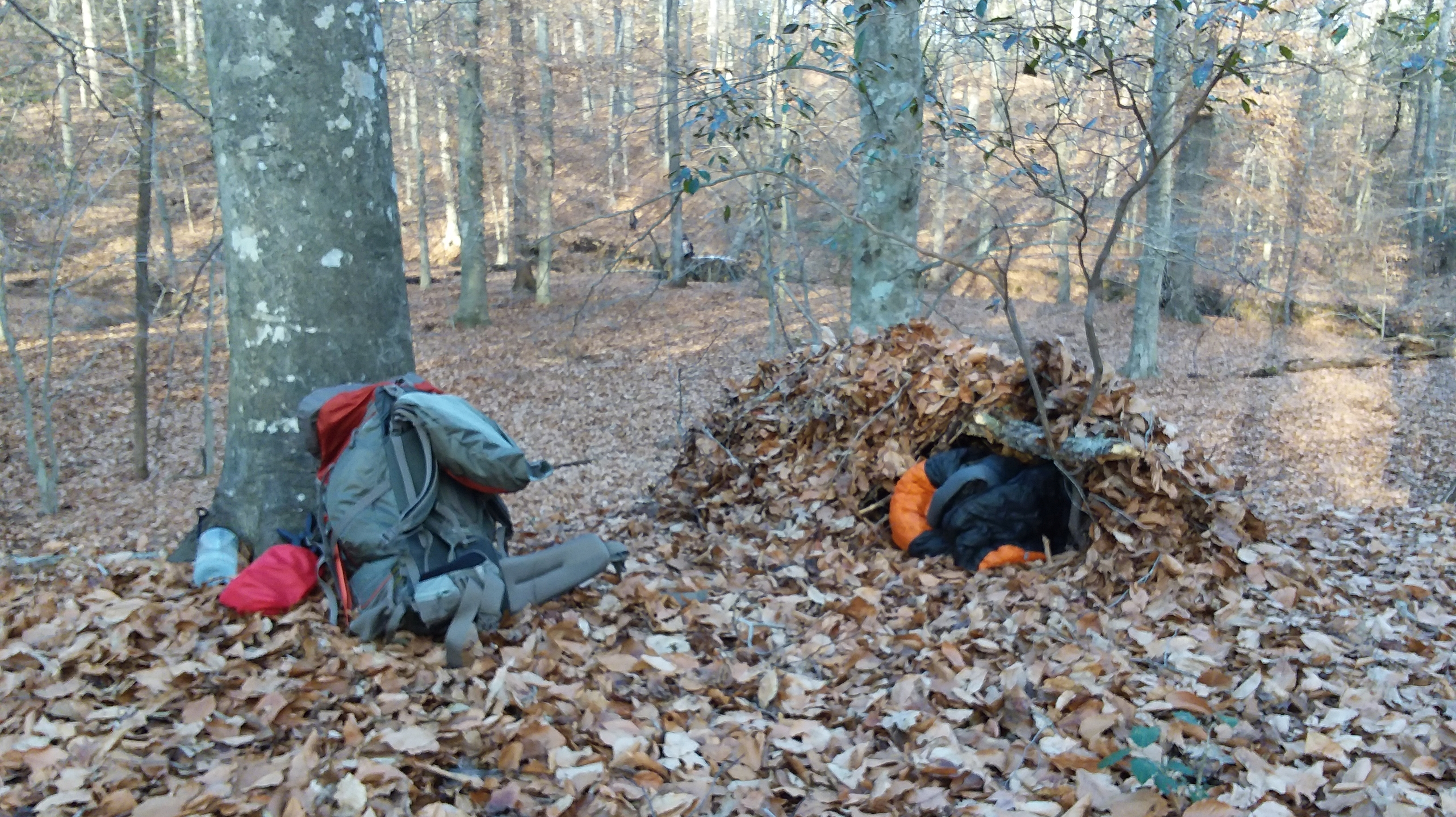 Winter Camping Without a Tent – Flying Squirrel Outdoors