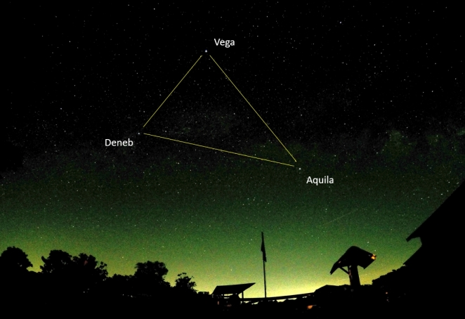 Summer Triangle, Labelled